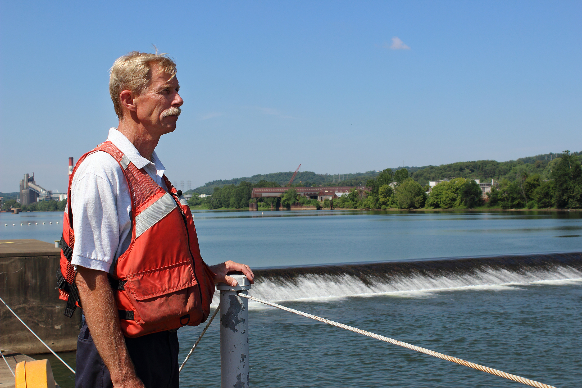 Charles Weight, Lockmaster – Elizabeth Locks and Dam