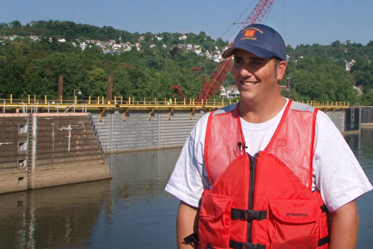 Alan Nogy, Acting Lockmaster – Charleroi Locks and Dam